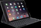Logitech SLIM FOLIO - Tastatur - für iPad (5. Generation) - UK Layout - Schwarz