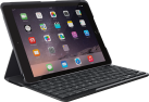 Logitech SLIM FOLIO - Tastiera - per iPad (5. Generation) - UK Layout - Nero