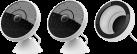 Logitech CIRCLE 2 Kombipaket - 2 Sicherheitskamera + 1 Fensterhalterung - Kabelgebunden - Weiss