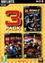 LEGO Pack 3 - Batman 2 + Harry Potter + Lord of the Rings, PC [Versione francese]