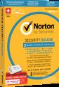 Symantec Norton Security 3.0 Deluxe + USB-Stick - 3 Lizenzen, PC/MAC, multilingual