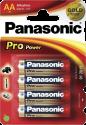 Panasonic Alkaline Pro Power LR6PPG, 4xAA