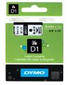 DYMO D1 Nastro etichette autoadesive, 0,9 cm x 7 m