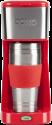 DOMO DO438K My Coffee - Macchina per il caffè filtra - 2 Tazze - Rosso