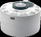 DOMO DO325VD - Dörrgerät - Durchmesser: 33 cm - Weiss