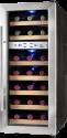 DOMO DO911WK - Weinkühler - Für 21 Flaschen - Grau