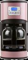 DOMO DO477K Filterkaffeemaschine - Kaffeeautomat - 12 Tassen - Pink