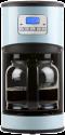 DOMO DO478K Filterkaffeemaschine - Kaffeeautomat - 12 Tassen - Blau