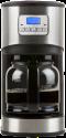 DOMO DO479K Filterkaffeemaschine - Kaffeeautomat - 12 Tassen - Edelstahl