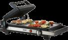 DOMO DO9138G - Teppanyaki-Grill BBQ - 2200 W - Schwarz