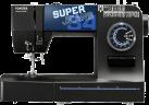 TOYOTA SuperJeans34 - Nähmaschine - 34 Stichprogramme - Schwarz