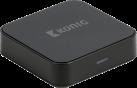 König Bluetooth Audioempfänger - 3.5 mm - Schwarz