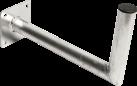 König Electronic SAT-AWM45 - Aluminum Supporto - Argento