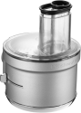 KitchenAid 5KSM2FPA - Food-Processor-Vorsatz - Mit manuelle Geschwindigkeitsregelung - Silber