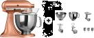 KitchenAid 1011.01.16 KSM 150 - Küchenmaschine - 300 Watt - Umdrehungen pro Minute : 40-225 - Kupfer