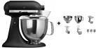 KitchenAid 1011.01.16 KSM 150 - Küchenmaschine - 300 Watt - Umdrehungen pro Minute : 40-225 - Eisenschwarz