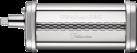 KitchenAid 5KSMPRA - Dreiteiliger Nudelvorsatz - Breite 140 mm - Silber