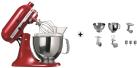 KitchenAid 1011.01.16 KSM 150 - Küchenmaschine - 300 Watt - Umdrehungen pro Minute : 40-225 - Rot