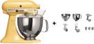 KitchenAid 1011.01.16 KSM 150 - Küchenmaschine - 300 Watt - Umdrehungen pro Minute : 40-225 - Pastellgelb