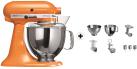 KitchenAid 1011.01.16 KSM 150 - Küchenmaschine - 300 Watt - Umdrehungen pro Minute : 40-225 - Orange