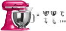 KitchenAid 1011.01.16 KSM 150 - Küchenmaschine - 300 Watt - Umdrehungen pro Minute : 40-225 - Himbeereis