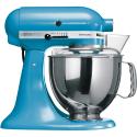 KitchenAid 1011.01.16 KSM 150 - Küchenmaschine - 300 Watt - Umdrehungen pro Minute : 40-225 - Cristallblau