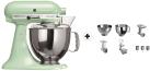 KitchenAid 1011.01.16 KSM 150 - Küchenmaschine - 300 Watt - Umdrehungen pro Minute : 40-225 - Pistazie