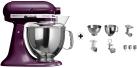 KitchenAid 1011.01.16 KSM 150 - Küchenmaschine - 300 Watt - Umdrehungen pro Minute : 40-225 - Holunderbeere
