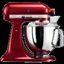 KitchenAid 1011.01.16 KSM 150 - Küchenmaschine - 300 Watt - Umdrehungen pro Minute : 40-225 - Apfelrot