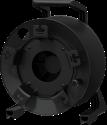 PROCAB Leere Kabel Trommel - Zu 140 Metern - Schwarz