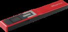 I.R.I.S. IRIScan™ Book 5 - Scanner als Handgerät - 1200 dpi - Rot