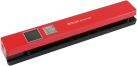 I.R.I.S. IRIScan™ Anywhere 5 - Einzelblatt-Scanner - 1200 dpi - Rot