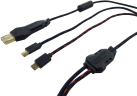 DRAGON WAR Dual Turbo Charging Cable PS4