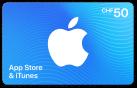 iTunes-Geschenkkarte CHF 50.-
