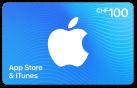 iTunes-Geschenkkarte CHF 100.-