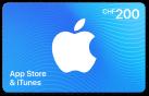 iTunes-Geschenkkarte CHF 200.-