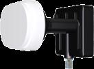 inverto 3538 Mono - Single Monoblock LNB - Schwarz