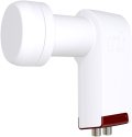 inverto 3207 Red Extend - Twin LNB Long Neck - Blanc/Rouge