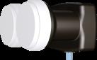 inverto Single Monoblock 40mm LNB, 6° for 80cm dish