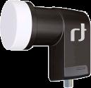 inverto 3139 Black Premium - Selected Single LNB - Noir