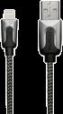 XtremeMac Premium Lightning Kabel, 2 m, schwarz