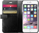 XtremeMac X-Wallet Leather Case, für iPhone 6 Plus, schwarz