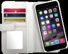 XtremeMac X-Wallet Leather Case, pour iPhone 6/6s, blanc