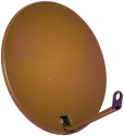 TRIAX TDS 78 - Parabolantenne - 37.1 dBi - Dunkelbraun