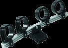 TRIAX TD-4 LNB Supporto per Multifeed - Nero