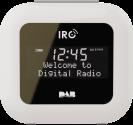 IRC Sandman - Radiowecker - DAB+ - Weiss