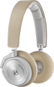 BANG & OLUFSEN BeoPlay H8 - casque audio avec micro - Bluetooth - beige/argent