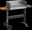 dancook 5300 - Grill - Grill 62 x 25 cm - a caldo per immersione ciotola fuoco alluminato - Argento