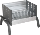 dancook 8100 - Grill - 42 x 32 cm - Silber