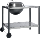 dancook 1500 - Grill - 100 x 67 cm - Silber
